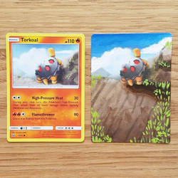 Pokemon Card - Torkoal