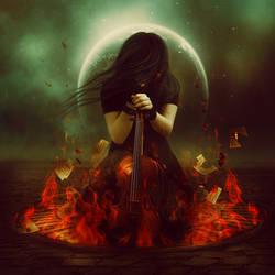Burning Music by LanaTustich