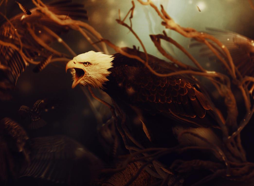Eagle by LanaTustich
