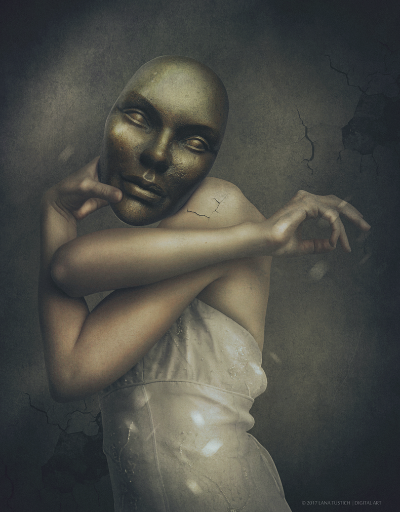 Mask (Dark Room #7) by LanaTustich