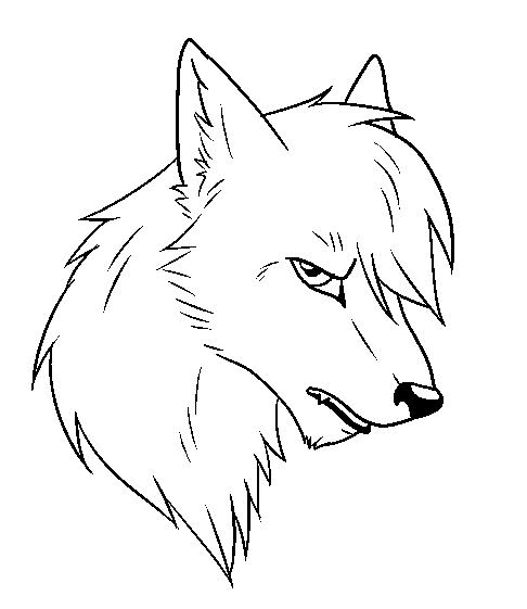 Sad Anime Wolves Drawings