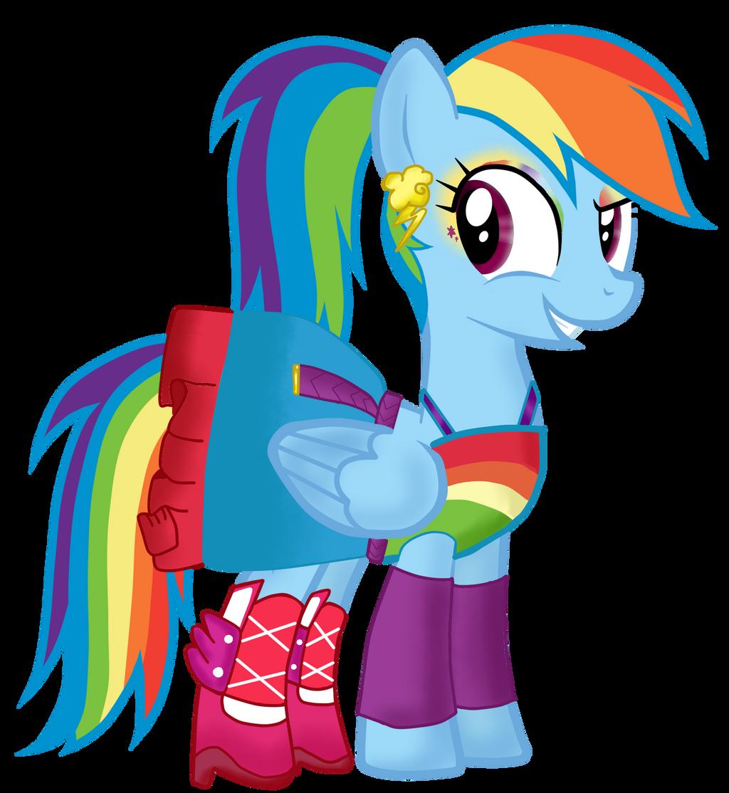 my little pony Rainbow Dash Traje EG by lindana506 on ...