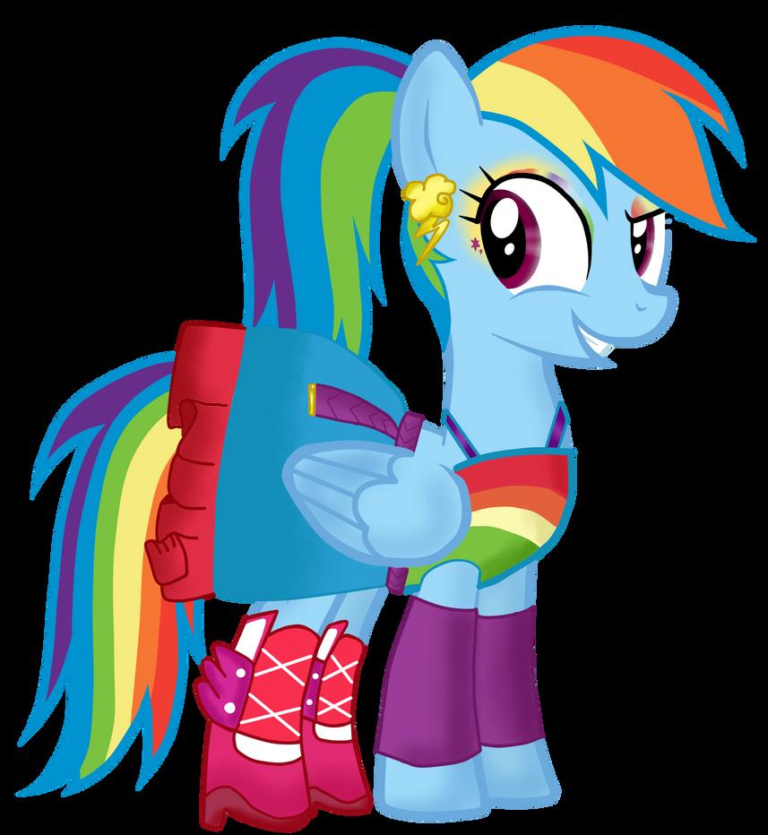 My Little Pony Equestria Girl Rainbow Rocks Rainbow Dash Dress Up Wroc Awski Informator