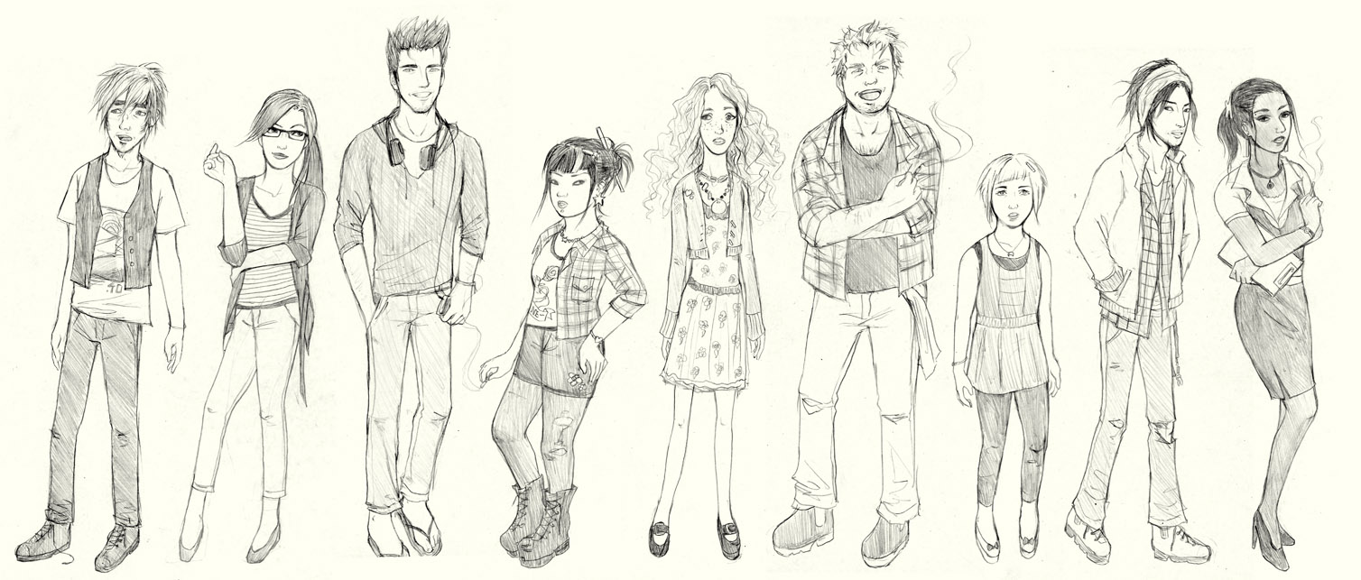Character sketch no. 1205820 by zodiac999 on DeviantArt