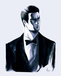 Bruce Wayne by zodiac999
