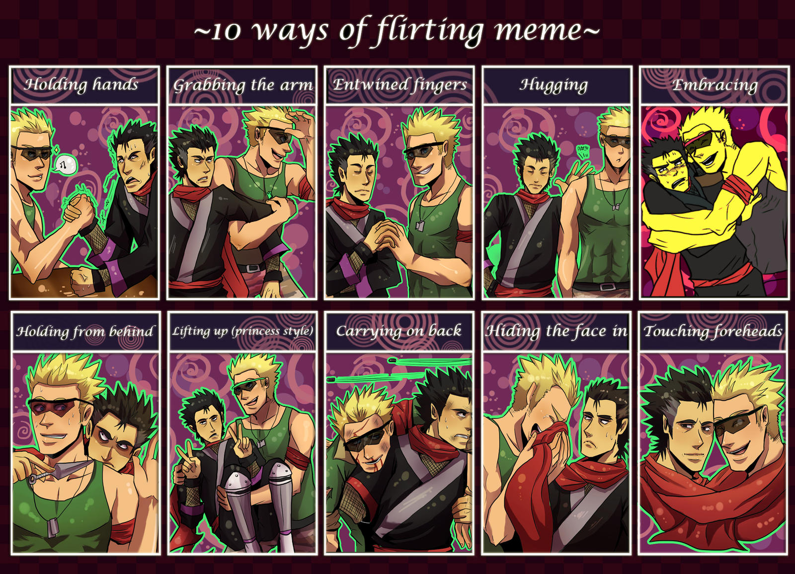 flirting games anime characters images pictures download