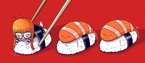 Futaba Sakura - Sushi