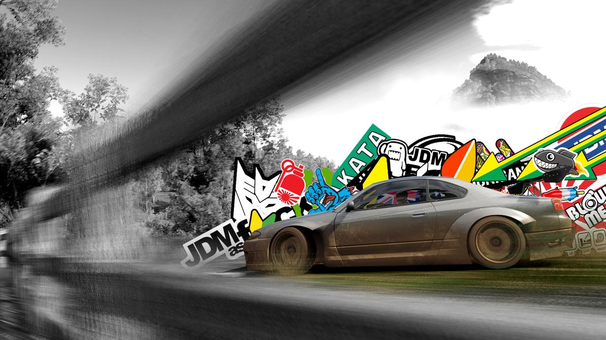 Forza Horizon 3 JDM Silvia Wallpaper By Benny4683