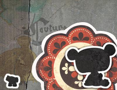 Paper Bear by Arcaydia