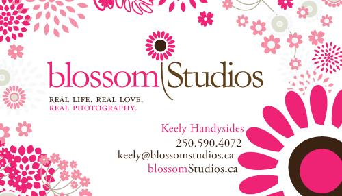 Blossom Studios Card by Arcaydia