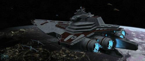 Coruscant Patrol -Lg Render- by NAngel1298