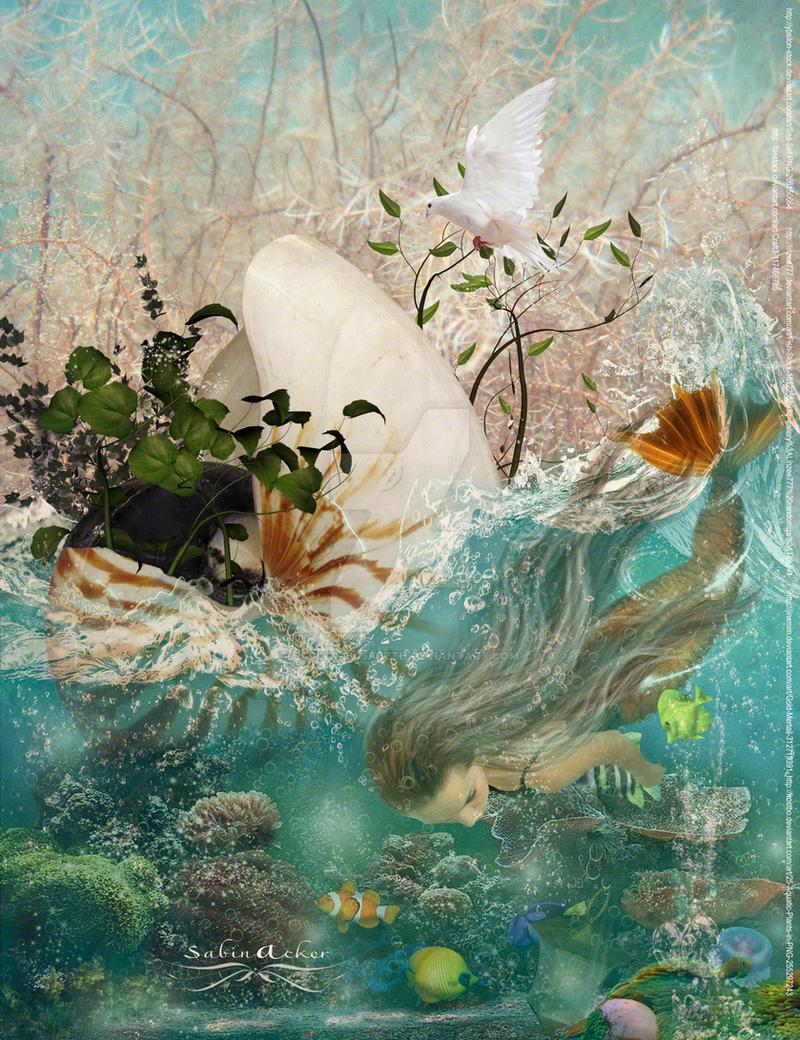 mermaid by vidimento