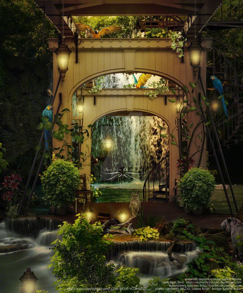 A dreamful place in the jungle by vidimento