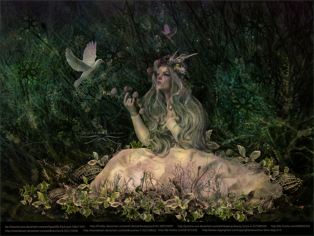 woodland fairy by