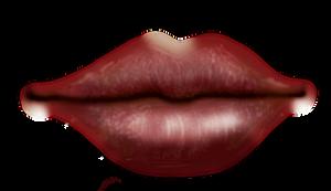 Painting_lips_01 by Sabina-Elisabeth