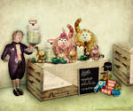 Restaurant Highheels and Hammer