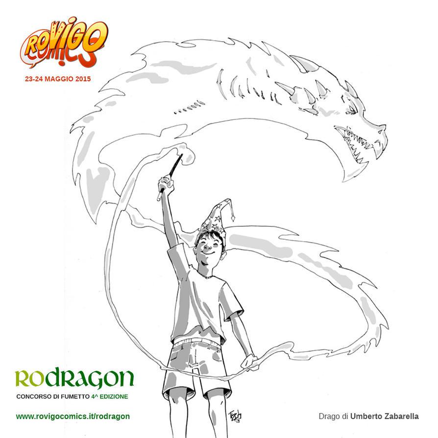 Rodragon - CONCORSO DI FUMETTO Rovigo Comics 2015 by tZuB