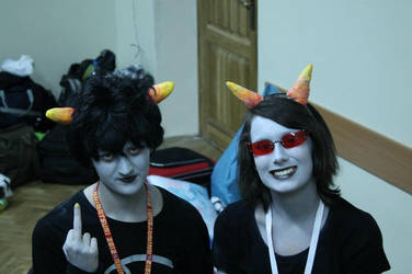 Homestuck: Hey there