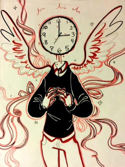 Clockhead Angel by Sodapoppers54