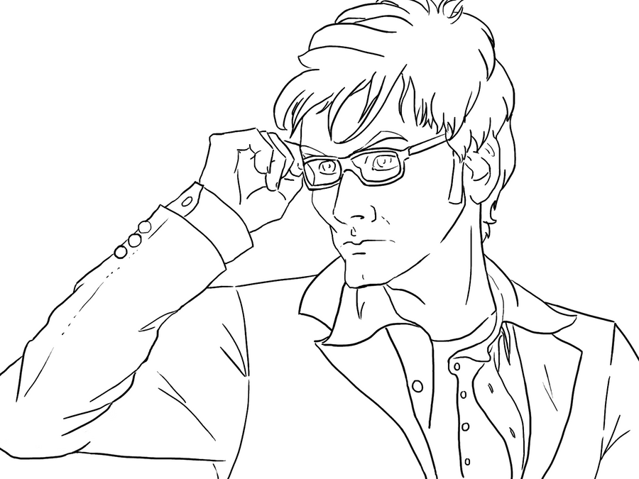 Line Drawing Of A Doctor : Free lines th doctor by tulpi on deviantart