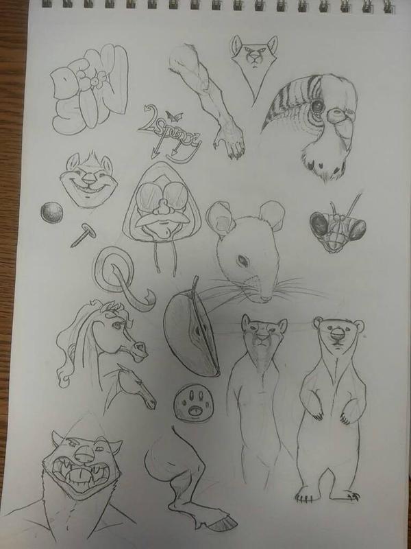 sketchbook #3 by Tulpi