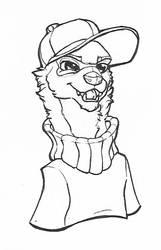 Ferret doodle