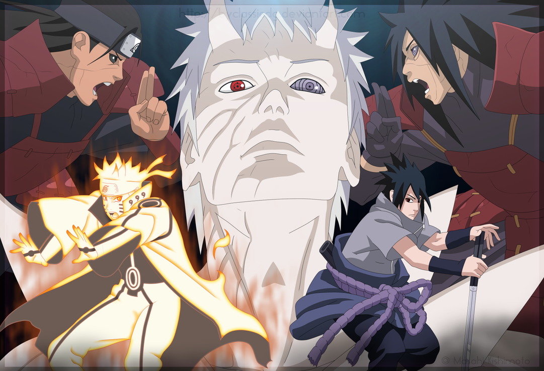 Naruto Shippuden -Opposition- by byClassicDG