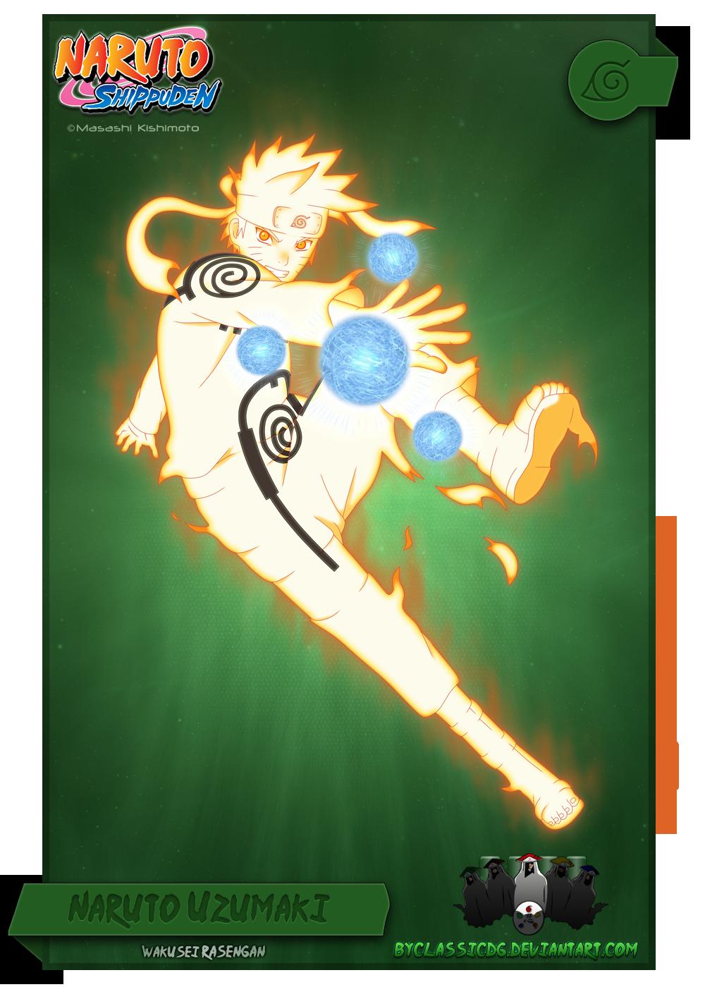 Naruto Uzumaki by byClassicDG