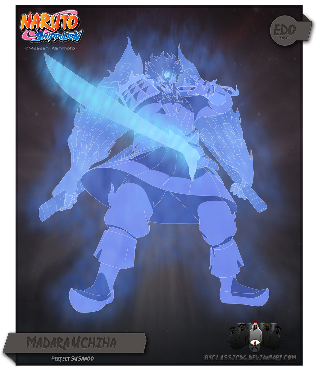 Madara Perfect Susanoo by byClassicDG on DeviantArt