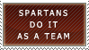 Sparta Stamp by SleepingShrew