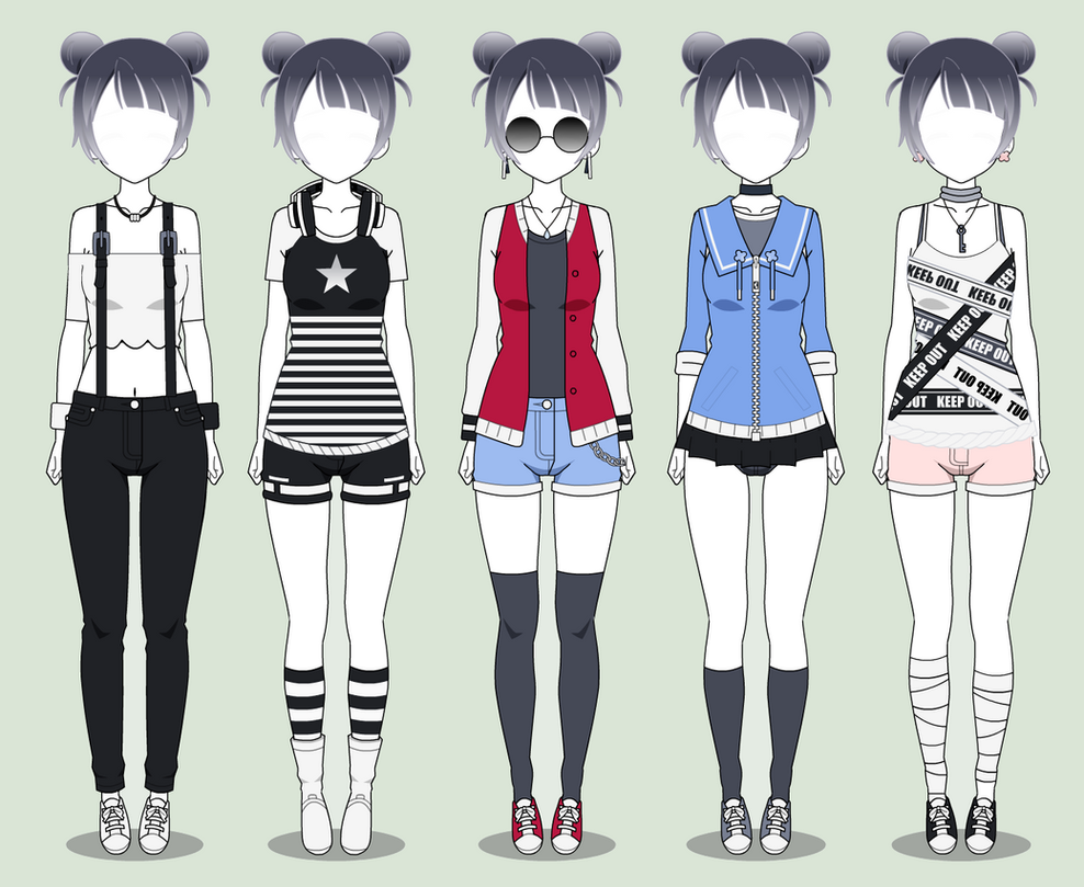 Kisekae Random Clothes Export By Surmak On Deviantart