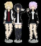 Usui, Hikari, and Hideki