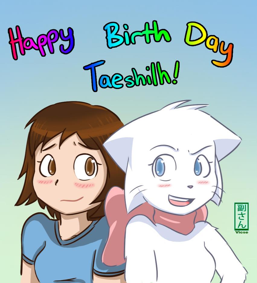 Happy Bday Taeshi by vicse