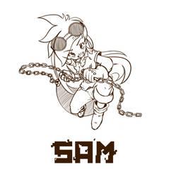 Human Sam by vicse
