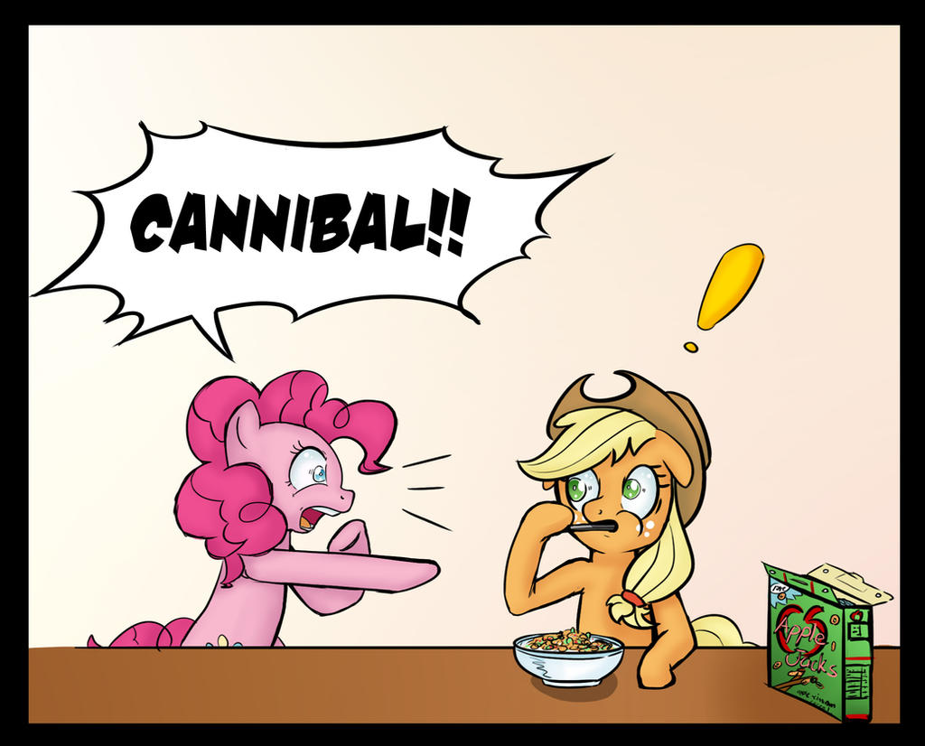 AJ eating AJs Weekly Comic 1 by vicse