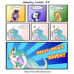Weekly Comic #5 by vicse