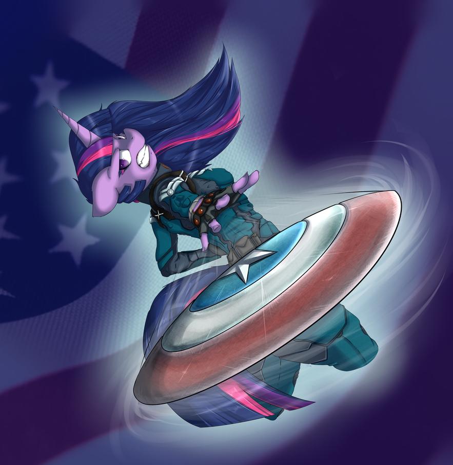 Captain Equestria by vicse
