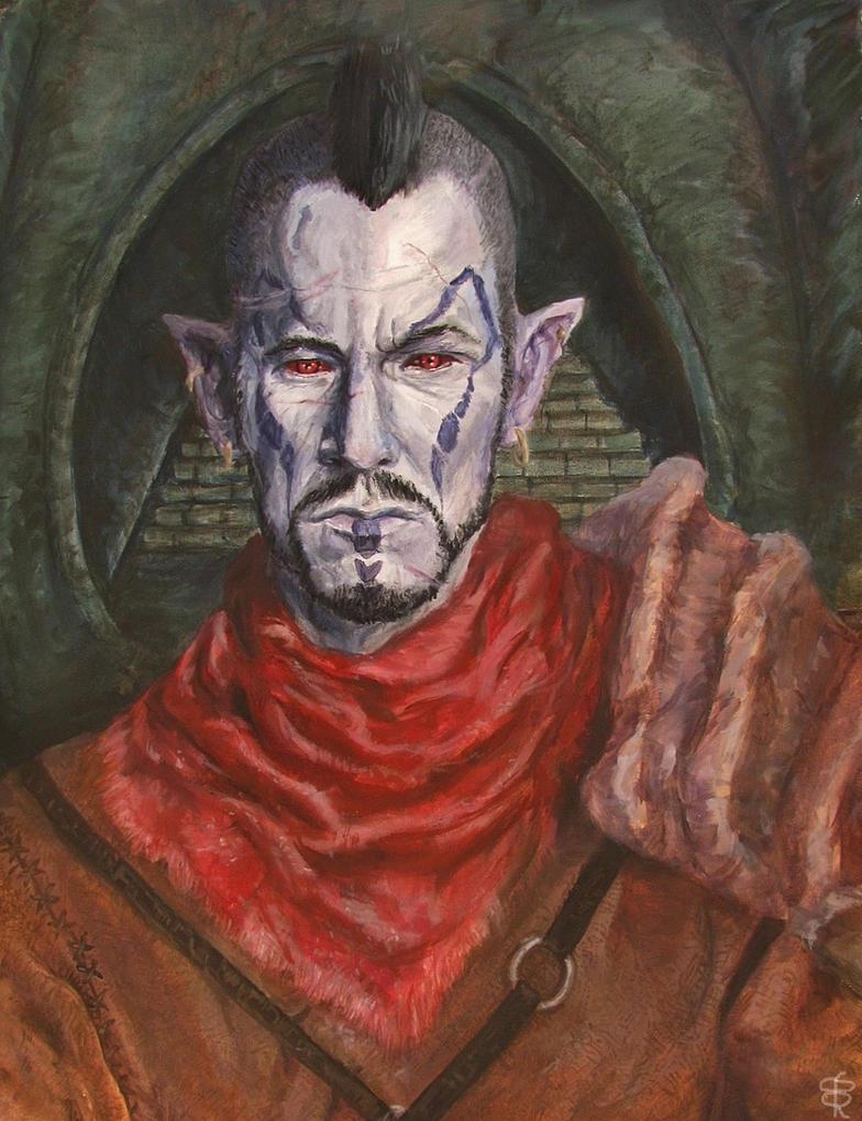 Dan Donohue as Teldryn Sero by BlueOakRogue