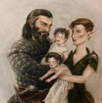 Happy Little Family