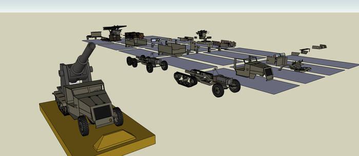 Modular M3 Halftrack