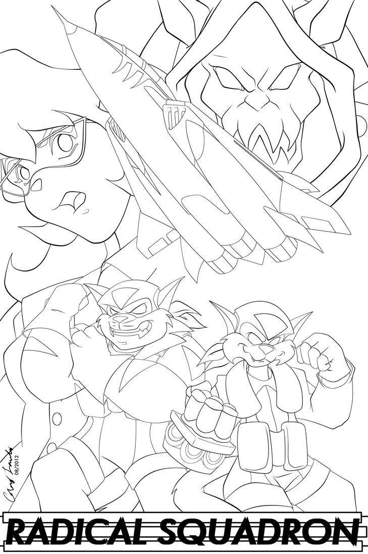 free fibel goes west coloring pages | Swat Kats - Free Coloring Pages