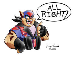 ArtForce 90s Jam Swat Kats T-Bone by coreylandis