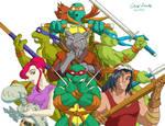 ArtForce 2000s Jam Teenage Mutant Ninja Turtles