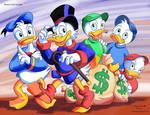 ArtForce Pre 1960s Jam Disney's Uncle Scrooge