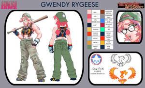 SkratchJams OC Pool 2 Gwendy Rygeese by coreylandis