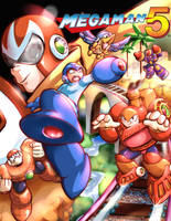 Mega Man Legacy Box Art Contest by coreylandis