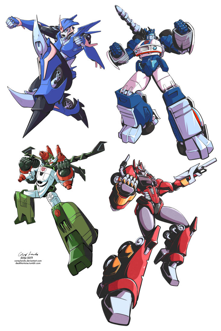 Transformers Practice Batch 1 by coreylandis