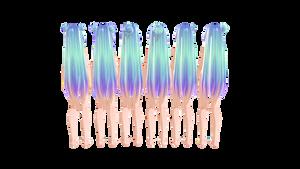 .:MMD TDA Miku hair edit DL.: