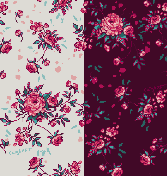 Floralpatterns In Pink By Catghost On DeviantArt New Floral Patterns