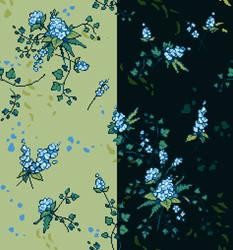 hydrangea-pixels